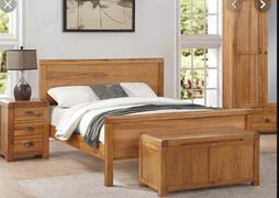 Oakridge 4'6 Panel Bed