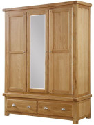 Newbridge 3 Door Wardrobe