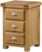 Newbridge 3 Drawer Night Stand