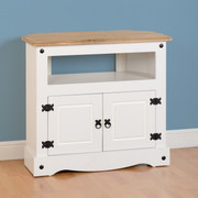 Corona Corner TV Unit-White