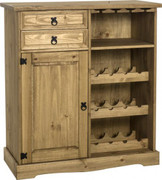 Corona Sideboard & Wine Rack Unit