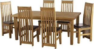 Tortilla 6' Dining Set with Espresso Brown PU Chairs