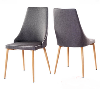 Finley Dining Chair-Grey