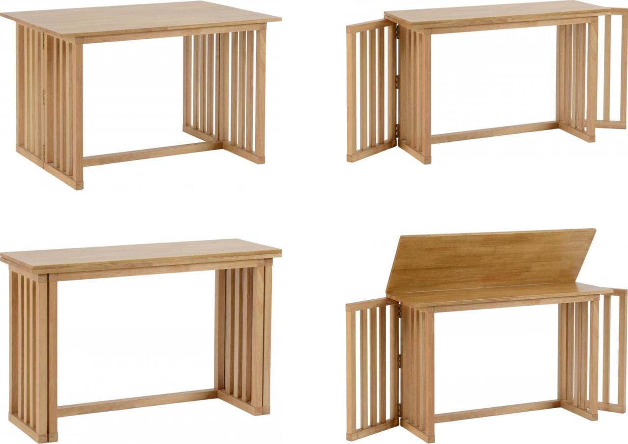 - Richmond Foldaway Dining Table - Ideal Furniture