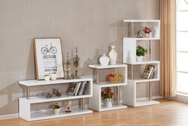 Charisma 3 Shelf Unit- White