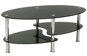 Cara Coffee Table-Black