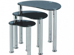 Cara Nest of Tables-Black