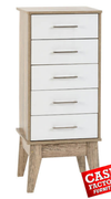 Stockholm 5 Drawer Chest