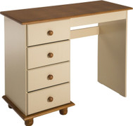 Sol 4 Drawer Dressing Table-Cream