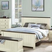 Meghan Walnut 4'6 Bed