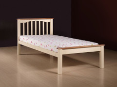 Sandra 2 tone Cream 4ft Small Double Bed