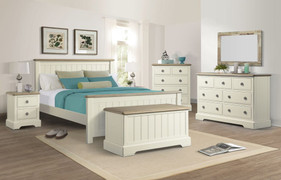 Meghan Oak 6' Bed