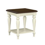 Meghan Walnut Lamp Table