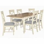 Meghan Oak Extension Table