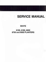 WHITE 6100 Pull Type Planter Operators Service Manual