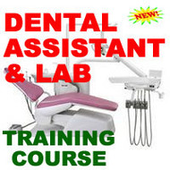 Dental Assistant Dentist Dentistry Course Training Manual on CD