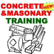 CONCRETE MASONARY TRAINING COURSE MANUAL HOW TO CD