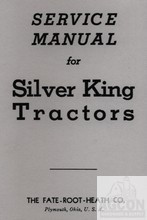Silver King Model 42 Tractor Service Shop Manual