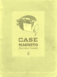 Case  4JMA 4CMA JMA CMA C CO CC  D DI DO DH DS L LA LAE Magneto Service Manual