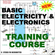 Basic Electronics and Electricity Training Course CD How to Course on CD