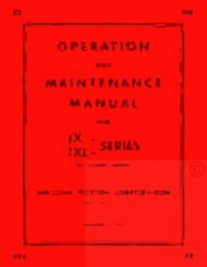 HERCULES JX JXA JXB JXC JXD JXL Engine Service Maintenance Manual