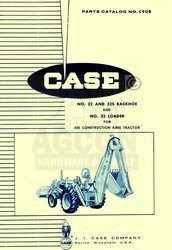 Case 130 180 Garden Tractor Parts Catalog Manual A954