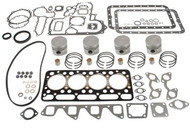 KUBOTA ENGINE Rebuild Kit for Bobcat L2850DT L2850GST L2850T L2850F 1600 743B