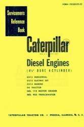 CATERPILLAR D7 D-7 &M and 3T Series Service Manual Cat