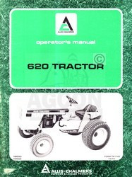 ALLIS CHALMERS 620 Tractor Owners Operators Manual