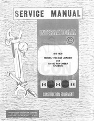 International 175 C Loader TD-15 Dozer Service Manual