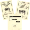 FARMALL F-12 F12 SERVICE OPERATORS OWNERS PARTS MANUAL