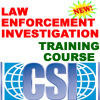 POLICE LAW CSI INVESTIGATION TRAINING MANUAL COURSE CD