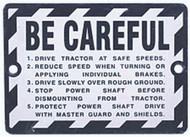 WARNING PLATE John Deere 50 520 60 620 70 720 80 820 A AN AW B BN G GM GN