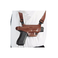 Galco Leather Miami Classic Shoulder Holsters - Right Hand - Glock 17, 19, 22, 23, 26