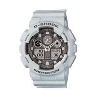 Casio G-Shock Big Case Ana-Digi Ice Gray Watch GA100LG-8A