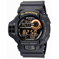 Casio Mens Black G-Shock Twin Sensor Altimeter Barometer Thermometer GDF100-1B