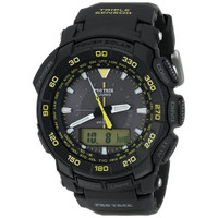 Casio PRG550-1A9 Pro-Trek Tough Solar Triple Sensor Black Watch