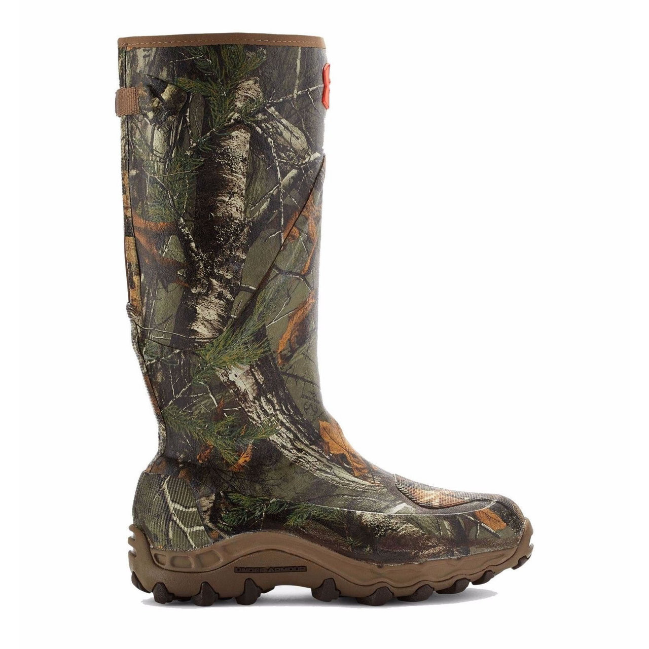 71274dfc6ee Under Armour Haw'madillo Camo Rubber Mud Boots 1250121-946 Realtree Xtra