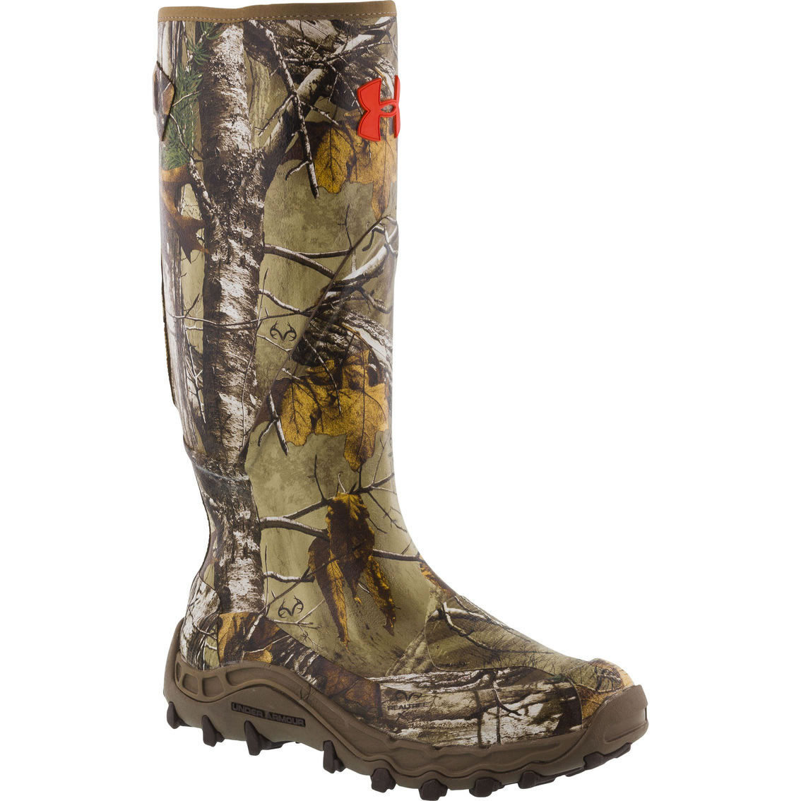 5f7b3ea12e8 Under Armour Mens Haw Madillo Uninsulated Hunting Mud Muck Boots  Camo-Realtree Xtra