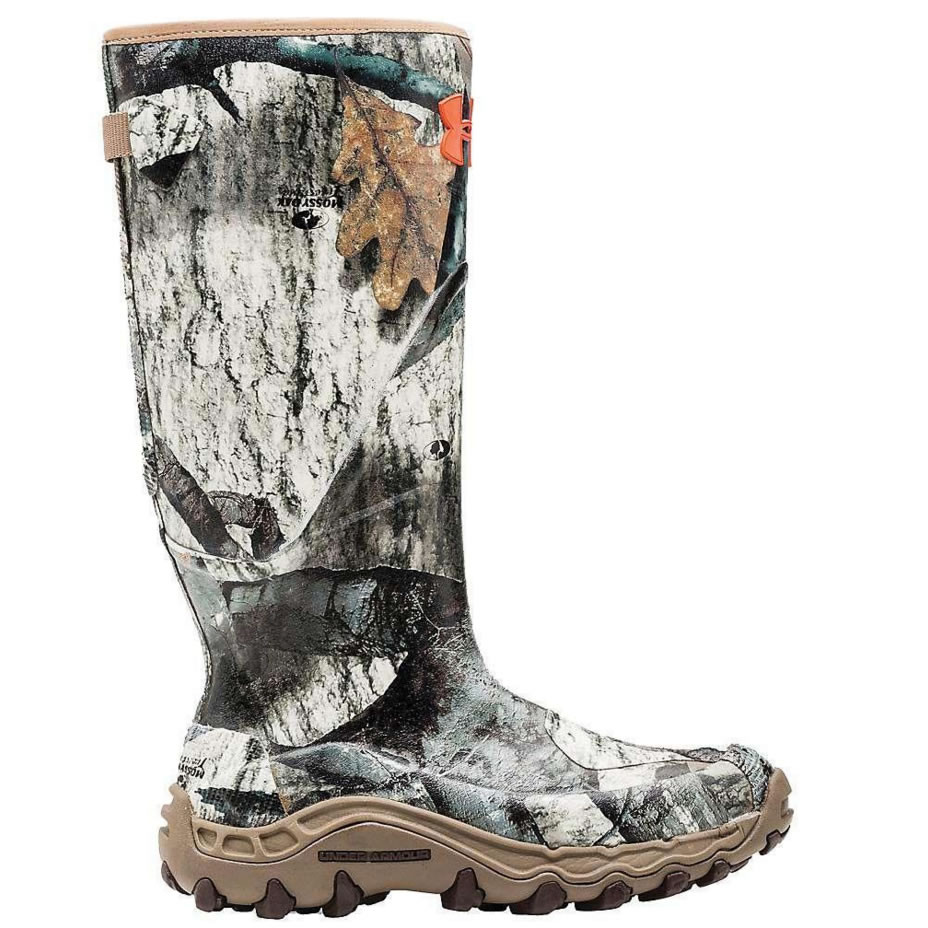 b6ac5696d68 Under Armour Mens Haw Madillo Uninsulated Hunting Mud Muck Boots Camo-Mossy  Oak Treestand