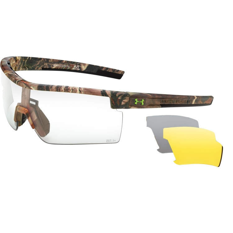 28608be773d Under Armour Freedom Interchange Camo Tactical - Men's Hunting Sunglasses -  REALTREE AP