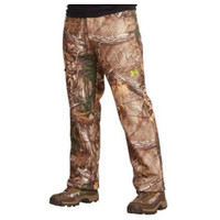 UNDER ARMOUR FLEECE SCENT CONTROL CAMO PANTS-REAL TREE 1248011-946