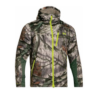 Under Armour Men's ColdGear Infrared Scent Control Barrier Camo Jacket 1259182- Mossy Oak Treestand