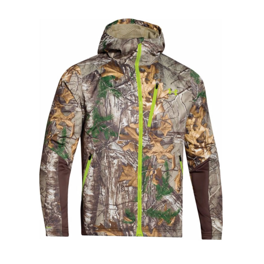 huge selection of b3032 d8cbc Under Armour Men s ColdGear Infrared Scent Control Barrier Camo Jacket  1259182 - Realtree XTRA - tacticalsuppliesdepot.com