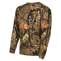ScentBlocker Fused Cotton L/S Top - Camo/Mossy Oak Break-Up Country