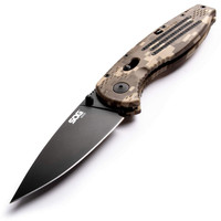 SOG Folding Pocket Knife - Aegis EDC Spring Assisted Knife Camo Grip AE06-CP