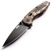 SOG Folding Pocket Knife - Aegis EDC Spring Assisted Knife Camo Grip AE06-CP