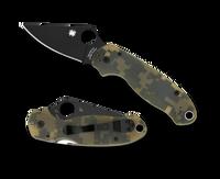 Spyderco Para 3 Plain Black/G-10 Digital Camo C223GCMOBK
