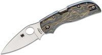 "Spyderco C152RNP Chaparral Folding Knife 2.8"" CTS XHP Satin Plain Blade"