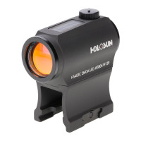 Holosun HS403C Solar Power Micro Red Dot Sight, Black